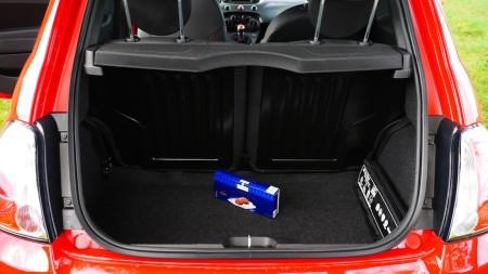 Fiat 500 S Kofferraum, Foto: Autogefühl