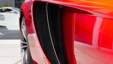 McLaren 12C Spider Lufteinlässe, Foto: Autogefühl