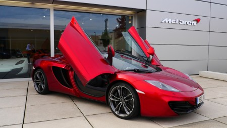 McLaren 12C Spider in Volcano Red, Foto: Autogefühl
