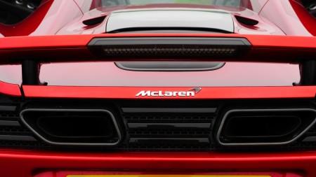 McLaren 12C Spider Auspuff, Foto: Autogefühl