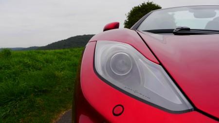 McLaren 12C Spider Scheinwerfer, Foto: Autogefühl