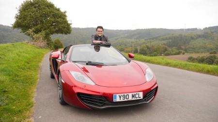 Thomas (Autogefühl) mit dem McLaren 12C Spider, Foto: Autogefühl
