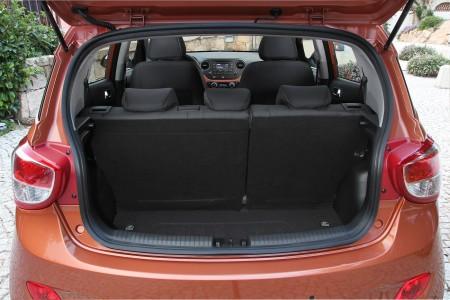 Hyundai i10 variables Gepäckraumkonzept, Foto: Hyundai