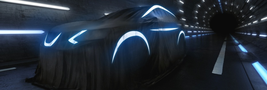 Der neue Nissan Qashqai - noch verhüllt. Foto: Nissan
