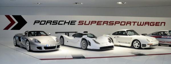 60 Jahre Supersportwagen, Foto: Porsche