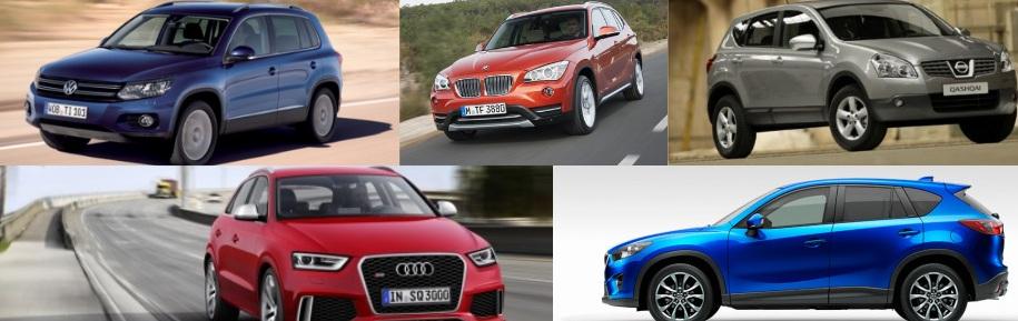 Die meistverkauften SUV in Deutschland, Fotos: Hersteller