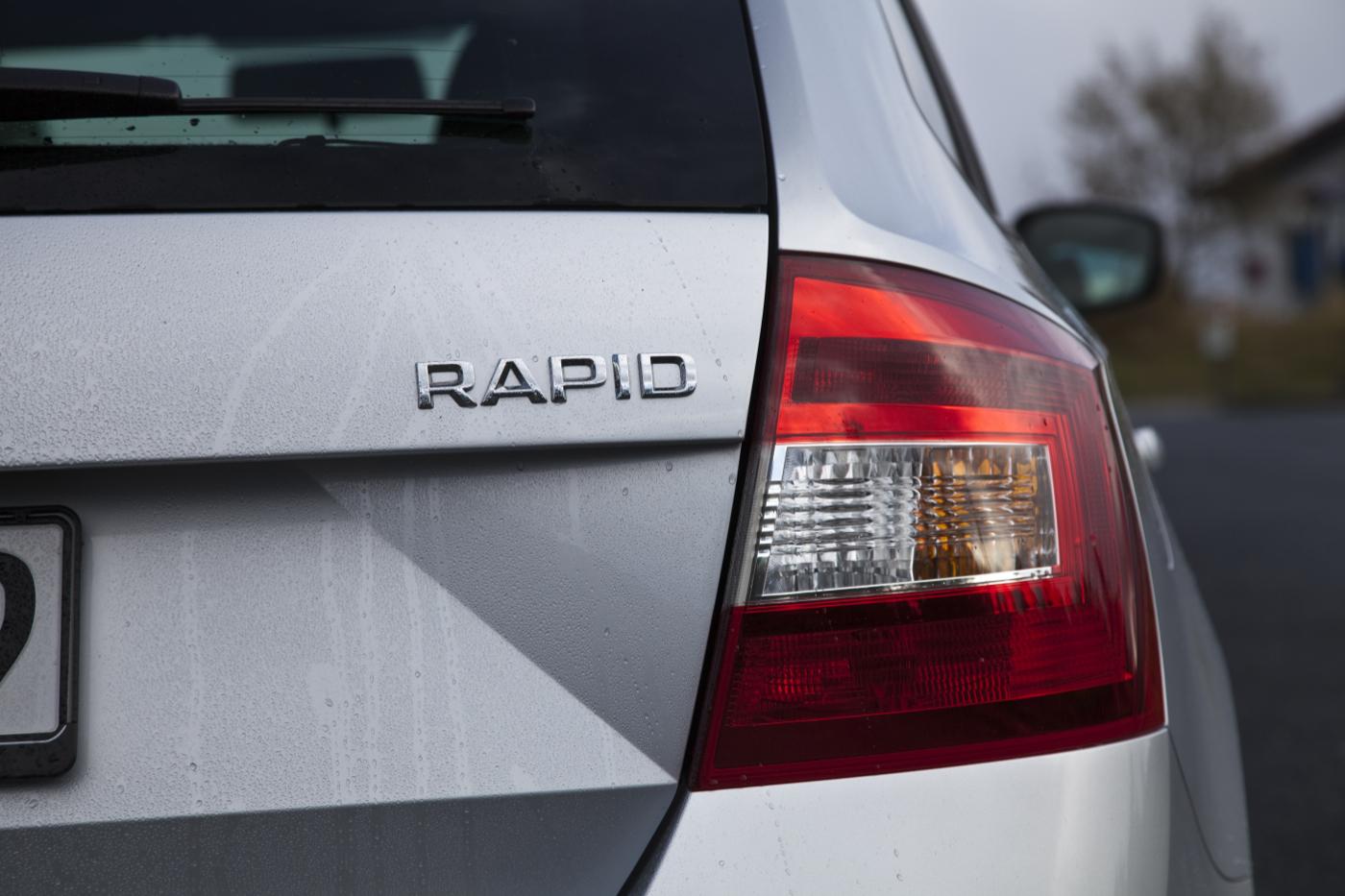 Škoda Rapid Spaceback Heckansicht  Foto: autogefühl.de