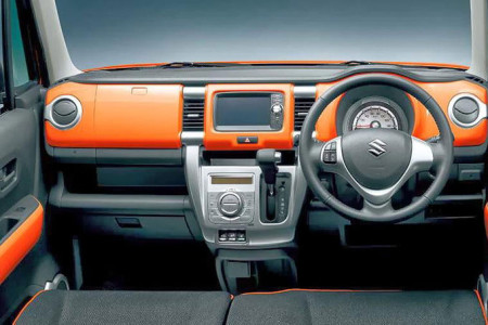 Suzuki Hustler Innenraum, Foto: Suzuki