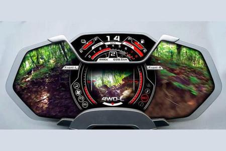 Suzuki X-Lander Cockpit, Foto: Suzuki