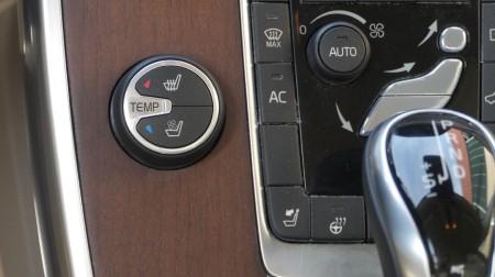 Volvo S80 Bedienung für Sitzheizung und Sitzlüftung, Foto: Autogefühl