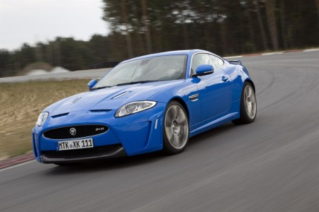 Jaguar XKR-S in French Racing Blue, Foto: Jaguar