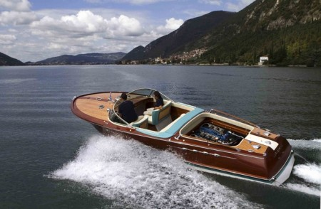 Die Riva Aquarama am Lago d'Iseo, Foto: Riva World