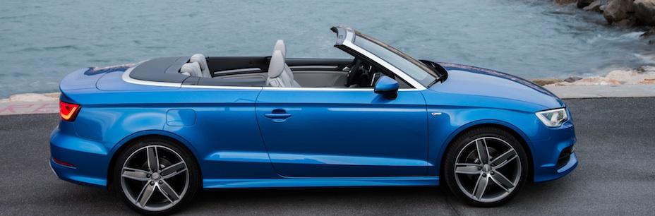 Audi A3 Cabriolet in Arablau in Monaco, Foto: Audi
