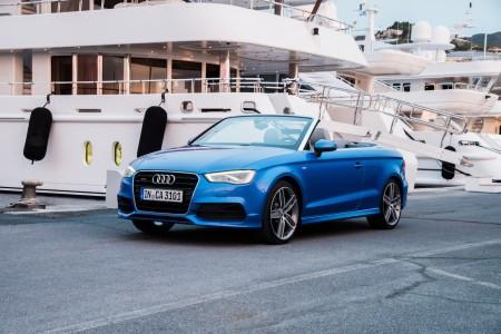 Audi A3 Cabriolet in Arablau, Foto: Audi