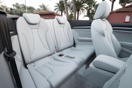 Audi A3 Cabriolet Fond, Foto: Audi