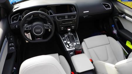 Audi RS5 Cabriolet Innenraum, Foto: Autogefühl