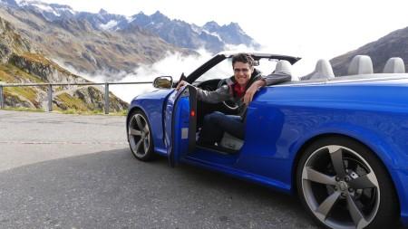 Thomas (Autogefühl) mit dem Audi RS5 Cabriolet, Foto: Autogefühl