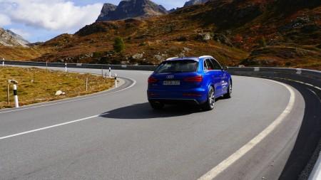 Audi RS Q3 in Sepangblau Perleffekt, Foto: Autogefühl