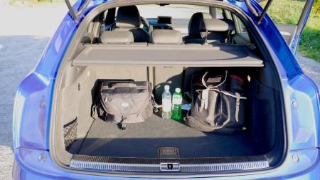 Audi RS Q3 Kofferraum, Foto: Autogefühl