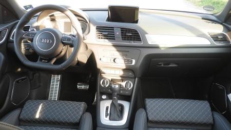 Audi RS Q3 Innenraum, Foto: Autogefühl