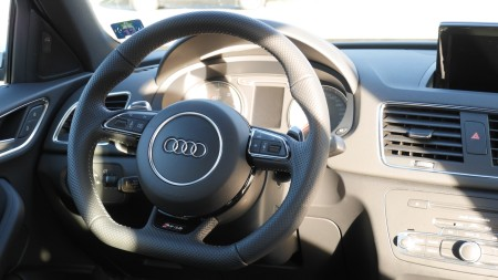 Audi RS Q3 Lenkrad (RS), Foto: Autogefühl