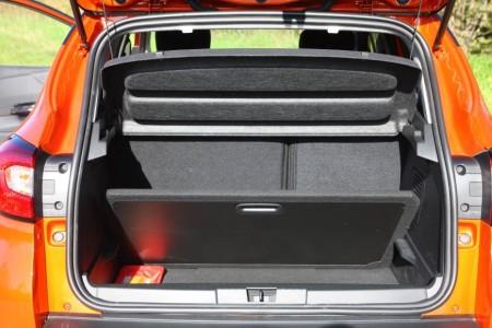 Renault Captur Kofferraumboden, Foto: Renault