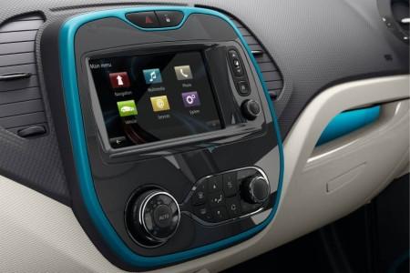 Renault Captur Multimedia-System, Foto: Renault