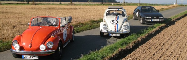 VW Käfer Cabrio-Krabbler, Herbie und VW Corrado, Foto: Autogefühl