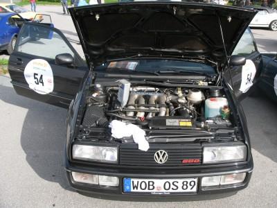 Der VW Corrado hat kein Öl mehr, Foto: Autogefühl