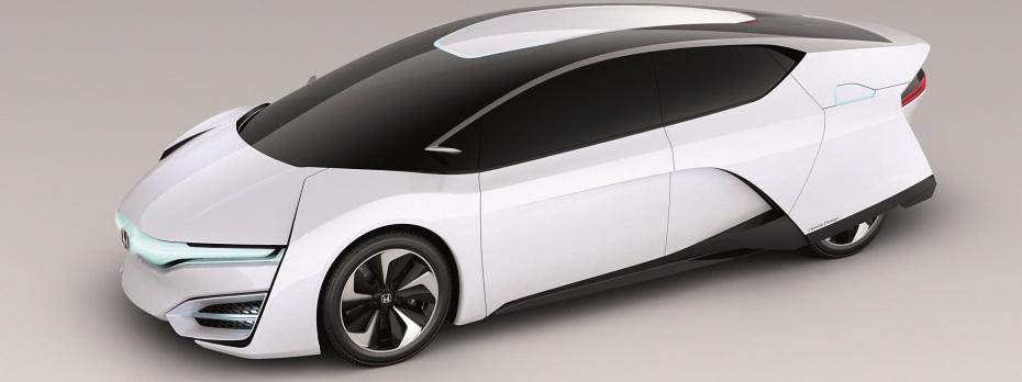 Honda FCEV mit Brennstoffzelle, Foto: Honda