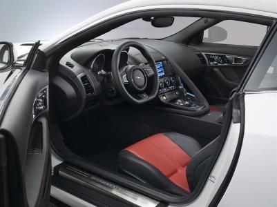Jaguar F-TYPE Coupé Innenraum, Foto: Jaguar