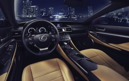 Lexus RC 350 Interieur, Foto: Lexus