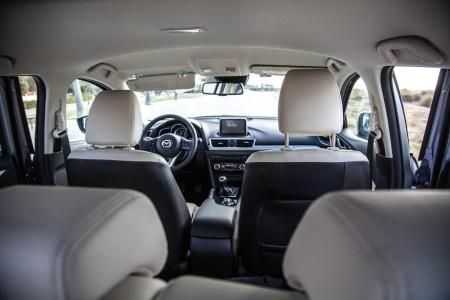 Mazda3 Innenraum, Foto: Autogefühl