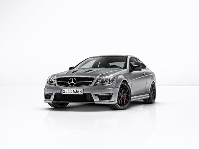 Der letzte Streich des W204: Mercedes-Benz C-Klasse Coupé, C 63 AMG Edition 507, Foto: Mercedes