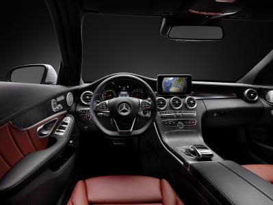 Mercedes-C-Klasse Interieur, Foto: Mercedes