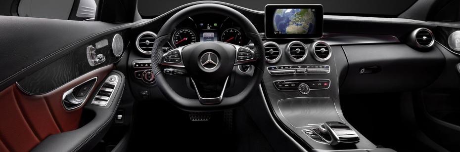 Neue Mercedes C-Klasse Cockpit, Foto: Mercedes