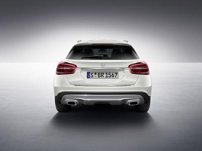 Mercedes GLA Edition 1 2013, Zirrus weiß, Foto: Mercedes