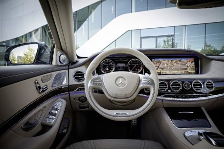 Mercedes S 65 AMG Innenraum, Foto: Mercedes