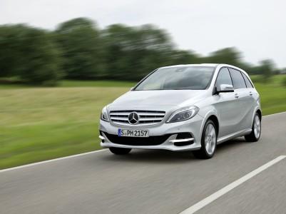 Mercedes-Benz B-Klasse, (W 242), Natural Gas Drive, Foto: Mercedes