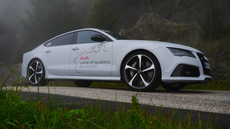 Audi RS7: Fotoshooting bei Nebel, Foto: Autogefühl