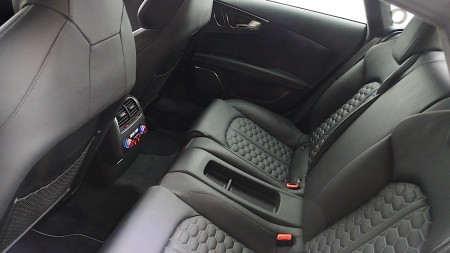 Audi RS7 Fond, Foto: Autogefühl