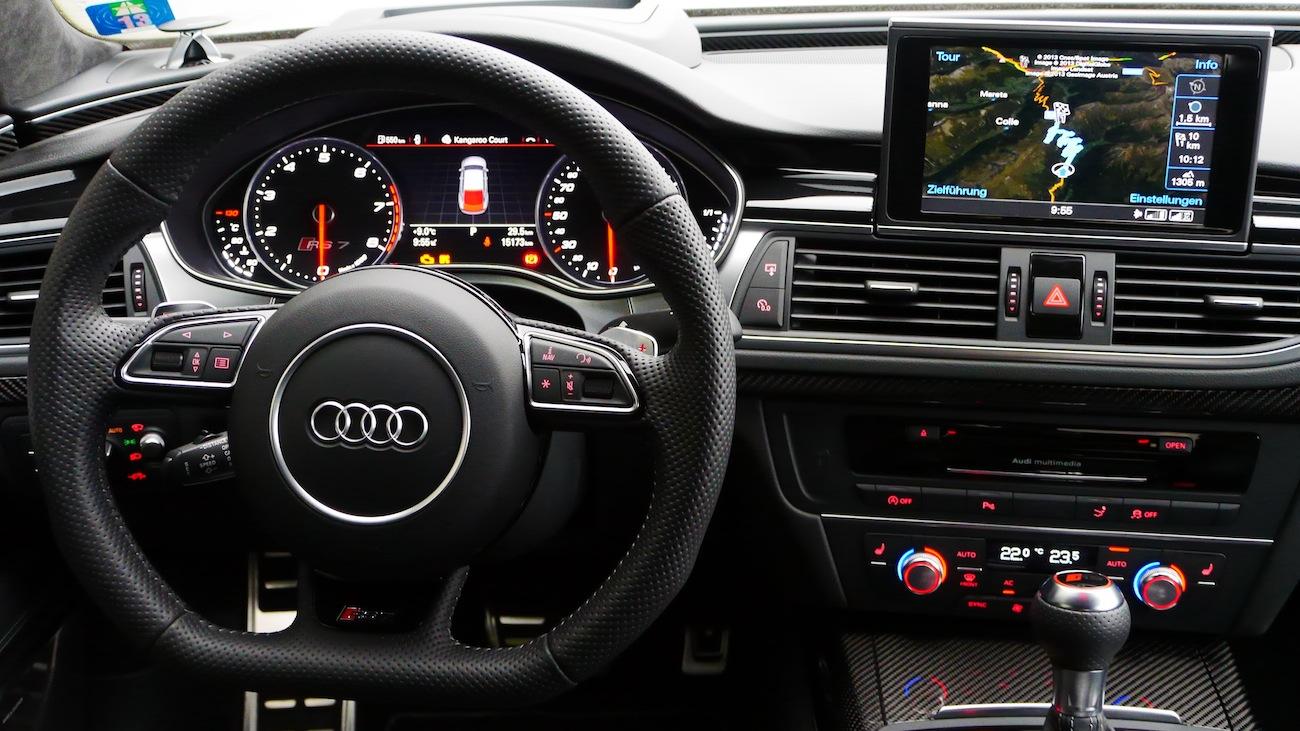 Audi Rs7 Test Souver 228 N Und Luxuri 246 S Unterwegs Autogef 252 Hl
