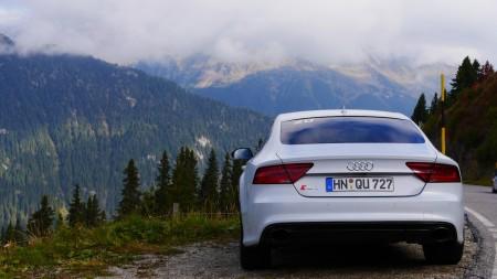 Audi RS7 in den Alpen, Foto: Autogefühl