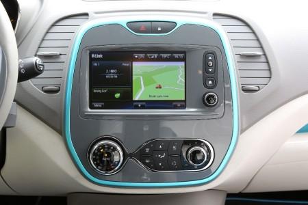 Renault Captur Multimedia-System in Top-Ausstattung, Foto: Renault
