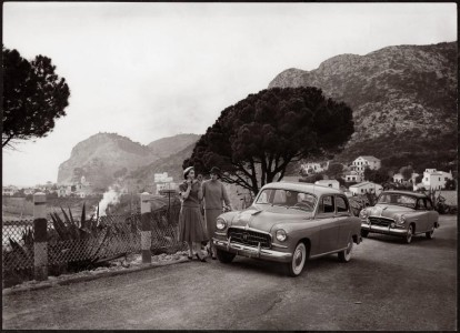 SEAT 1400 an der spanischen Küste, Foto: Seat