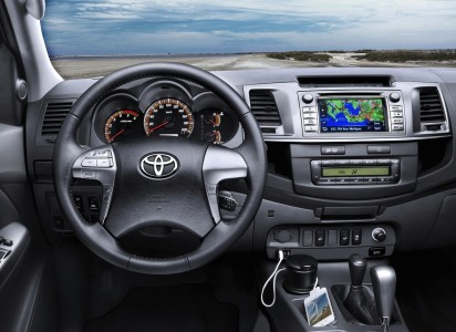 Toyota Hilux Interieur, Foto: Toyota