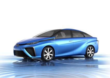 Toyota FCV Brennstoffzellenauto, Foto: Toyota