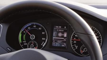 Energieflussanzeige im Kombiinstrument Foto: Volkswagen