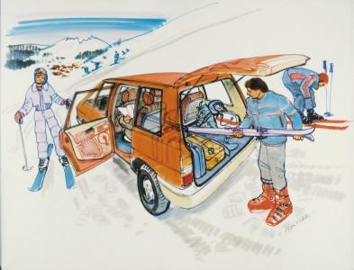 Ein Auto zum Leben- Zeichnung: Renault