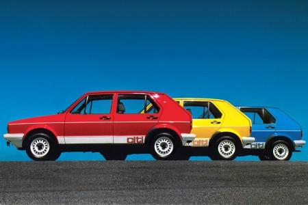 Der Golf I überlebte noch bis 2009 als Citi Golf in Südafrika. Er erfüllte nur die EU2-Abgasnorm und war nur als Rechtslenker lieferbar. Foto: Volkswagen Classic